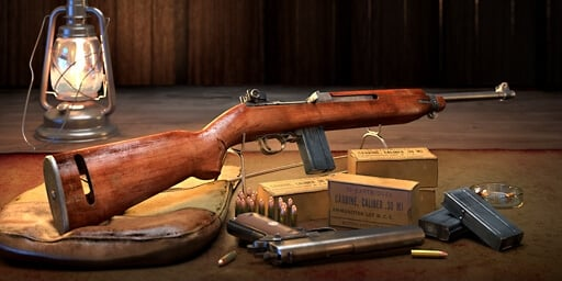 m1 carbine has been released for world of guns