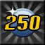 Level 250! in Rhythm Zone