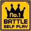 Battle Self Play 100 Wins in Clickr