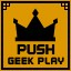 Push Geek Play All Clear in Clickr