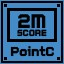 PointC. Score 2M in Clickr