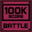 Battle Score 100K in Clickr