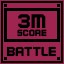 Battle Score 3M in Clickr