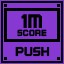 Push Score 1M in Clickr