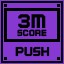 Push Score 3M in Clickr