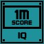 IQ Score 1M in Clickr
