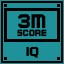 IQ Score 3M in Clickr