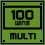 Multi 100 Wins in Clickr