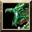 Green Dragon in Puzzle Quest 2