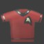 Red Shirt in Burn Zombie Burn