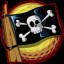 The Jolly Roger in Worms Crazy Golf