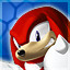 Knuckles the Echidna in Sonic Adventure DX