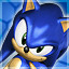 Sonic the Hedgehog in Sonic Adventure DX