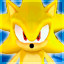 Super Sonic in Sonic Adventure DX