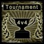 4v4 Tournament Winner in APOX