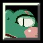 Huge Toad in Cave Story+