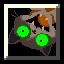 Armored Feline in Cave Story+