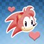 Just one hug is enough in Sonic CD