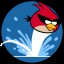 Waterfowl in Angry Birds Space