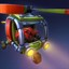 Huey Copter in Fieldrunners 2