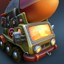 V2 on a Truck in Fieldrunners 2