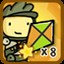 Patches and his Kite in Scribblenauts Unlimited