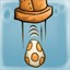 Egg race in Chaos on Deponia