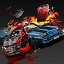 My car is my weapon in Zombie Driver HD