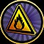 Highly flammable in Pinball FX2