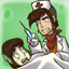 Surgeon simulator in Goodbye Deponia