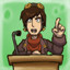 Demagogue in Goodbye Deponia