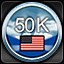 50,000 Squadron points - American in Sid Meier's Ace Patrol