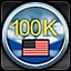 100,000 Squadron points - American in Sid Meier's Ace Patrol