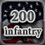 200 Infantry in Men of War: Assault Squad 2