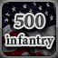 500 Infantry in Men of War: Assault Squad 2