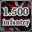 1.500 Infantry in Men of War: Assault Squad 2