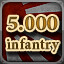 5.000 Infantry in Men of War: Assault Squad 2