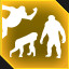 Apes. Together. Strong. in Plague Inc: Evolved