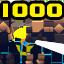 1000 Enemies down in Megabyte Punch