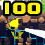100 Enemies down in Megabyte Punch