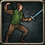 Swordsman in Legend of Grimrock 2