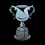 The Platinum Trophy in PixelJunk Shooter