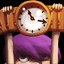 Tick Tock in Violett Remastered