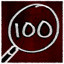 Examined 100 objects in Montague's Mount