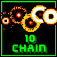 10 Chain in Super Chain Crusher Horizon