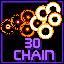 30 Chain in Super Chain Crusher Horizon