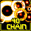 40 Chain in Super Chain Crusher Horizon
