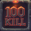 100 Kills in Motor Rock