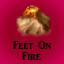 Feet on Fire in Last Dream