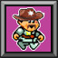Its the moustache and hat in Canyon Capers